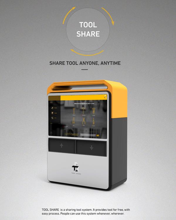 Tool Share – Community Tool Sharing System by Hong Uihwoan, Song Yoonji, Choi Seungho & Han Jisoo