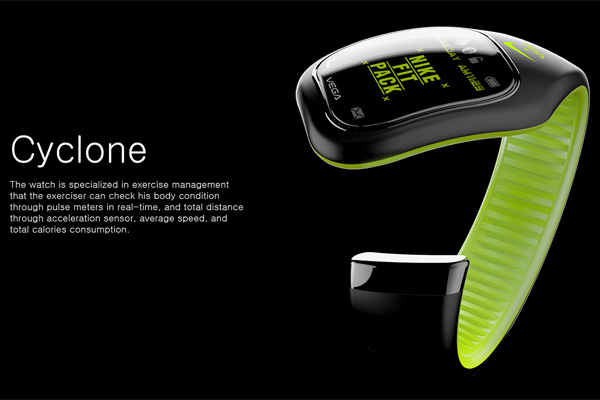 Cyclone – Nike Inspired Sports Band by Sunghoon Park