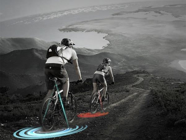 &B - Bicycle Laser Light Concept by Min Keun Kwon