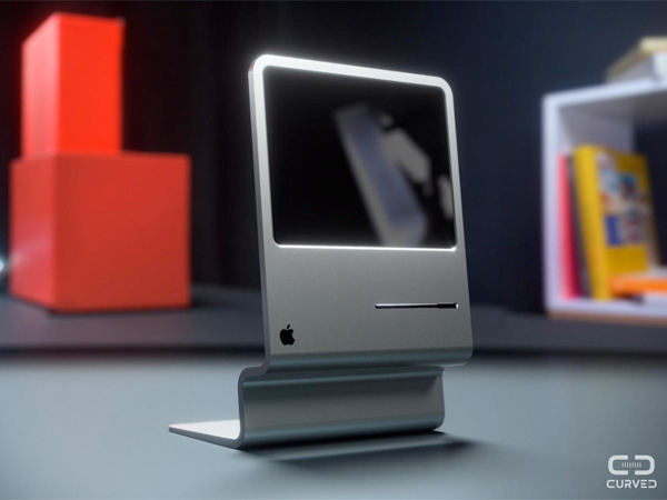iMac Concept Inspired by the Apple Macintosh Lisa Computer by CURVED/labs