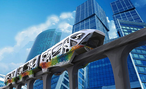 Monorail Concept by A.B.Vignesh