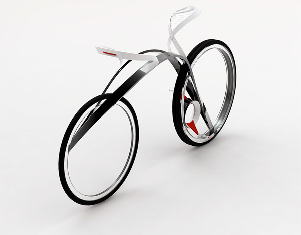 Future Racing Bike Concept by Pei Wuyang