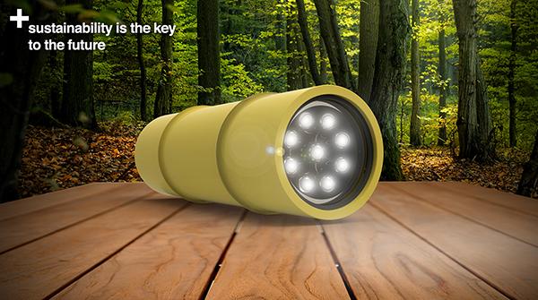 Bamboo Torch by Jordan Koroknai