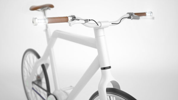 MagVis - Hybrid Handlebar Light by Stilform