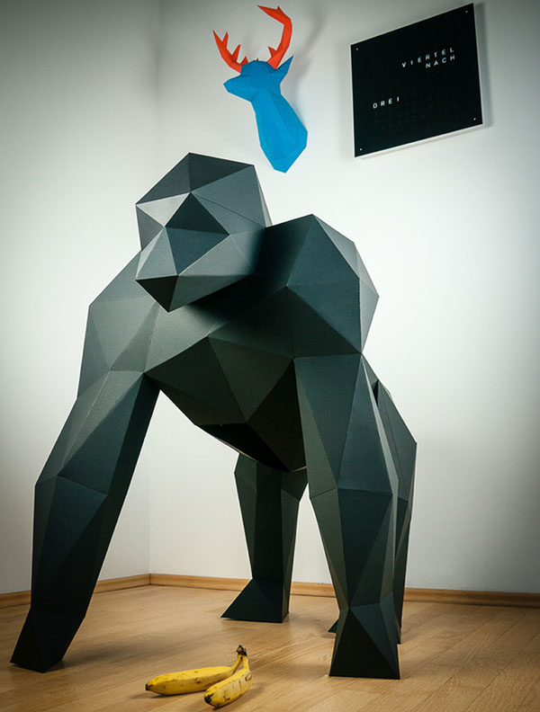 Papertrophy - Paper Art by Holger Hoffmann