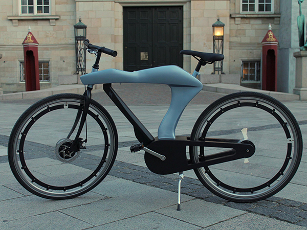 Electric Bicycle Concept by Kasper Jensen