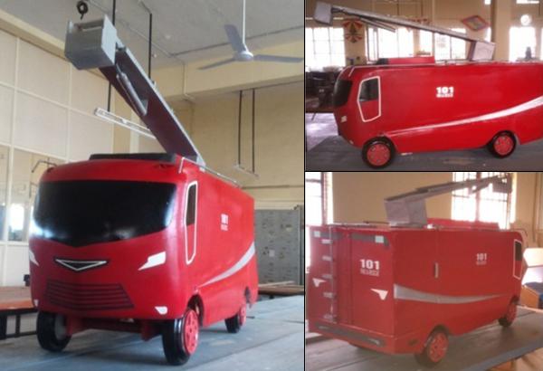 Firetruck Concept by Vivek Yadav J