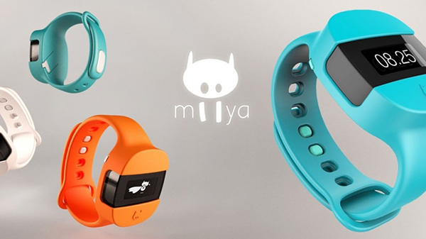 Miiya - Fitness Smartwatch for Kids by Frederic & Nicolas Bruneau