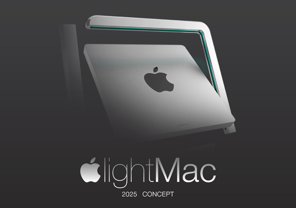 Apple lightMac iMac Concept for 2015 by Cristian Tomas Moyano