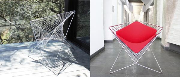 Parabola Chair by Carlo Aiello ENSSO
