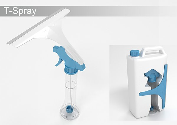 T-Spray Bottle by Navid & Soroush Vahidian