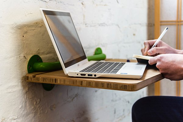 Portable Lap Desk Installation No. 1 by Yois Design