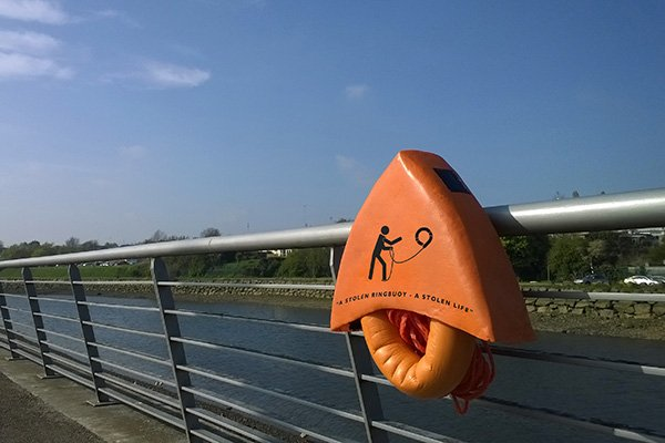 uBuoy  - Life Buoy Redesign by Sean McConnell
