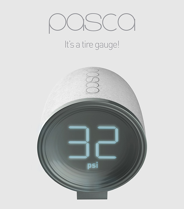 PASCA Tire Gauge by Xinyi Wang