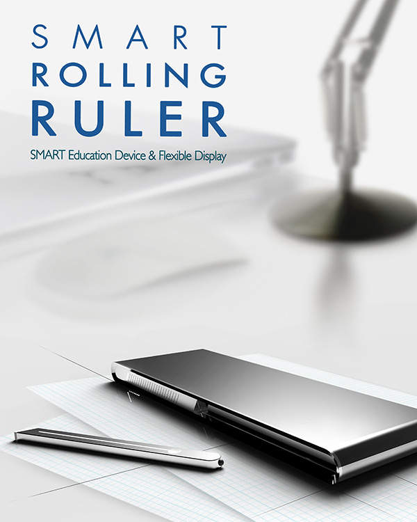 Smart Rolling Ruler by Park Chan-ju & Lee Hwa-yeon