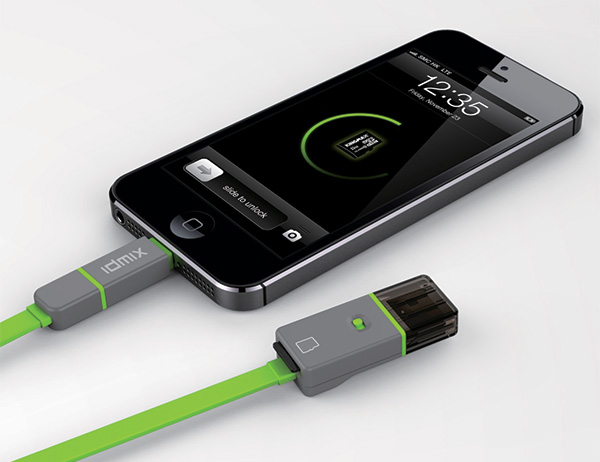 Micro USB Cable & Lightning Adaptor with Card Reader by Duan Seaman & Liang Zhijun