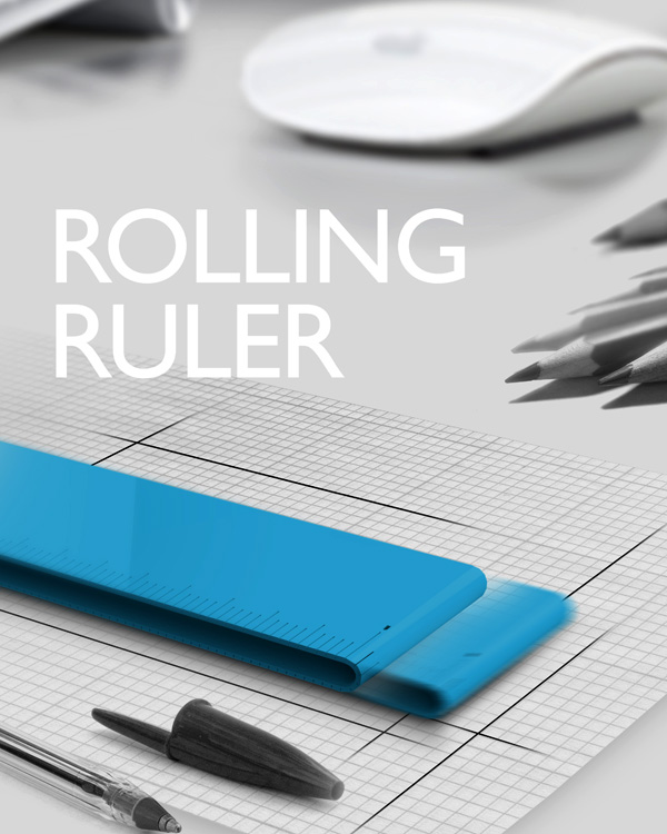 Rolling Ruler – Ruler Redesign by Park Chan-ju & Lee Hwa-yeon