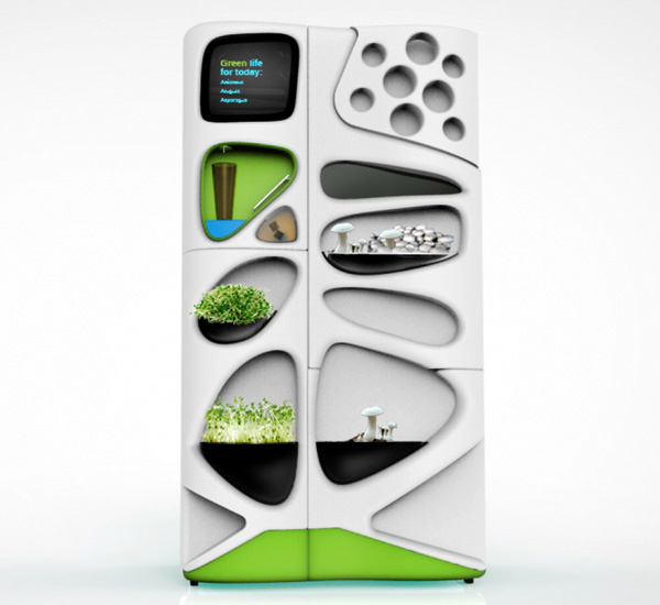 Verdant – The Eco Refrigerator by Yolegmma Márquez, Erin Glaberson and Emily Kvale