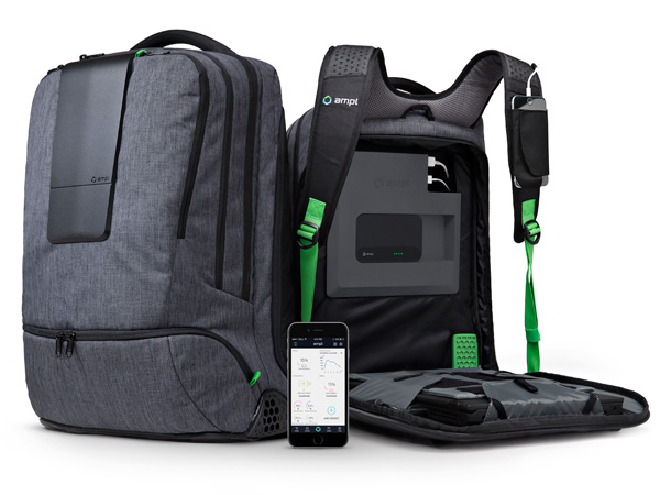The AMPL SmartBackpack by AMPL Labs