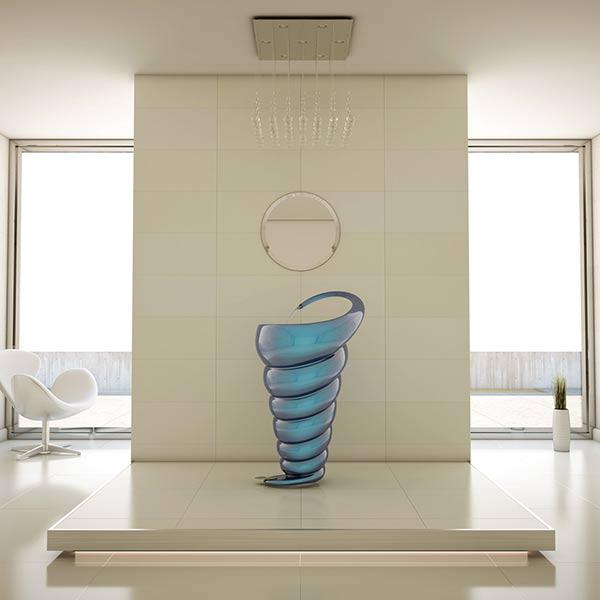 Spiral - Washbasin by Naser Nasiri  & Taher Nasiri