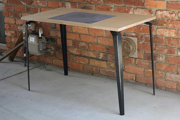 Braggadocio - Desk by Luke Valenza