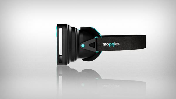 Moggles VR Headset by Rankleven Design Agency