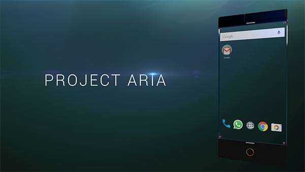 PROJECT ARIA - Concept Phone by 91 Mobiles