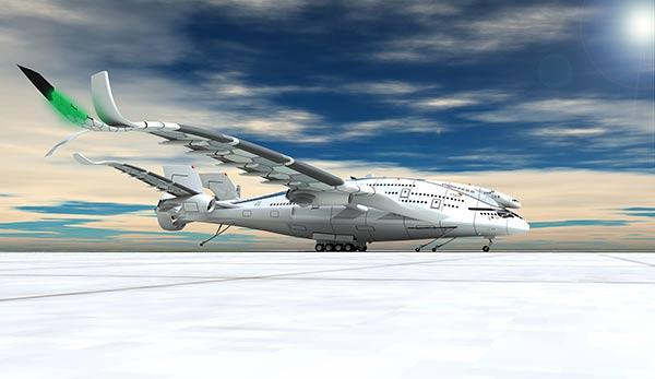 """AWWA·QG """"Progress Eagle"""" - Concept Aircraft by Oscar Viñals"""