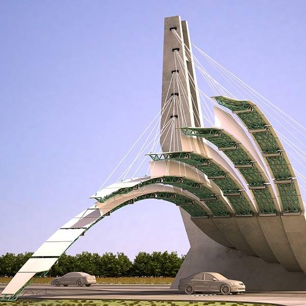 طراحی سردر ورودی شهر مشهد