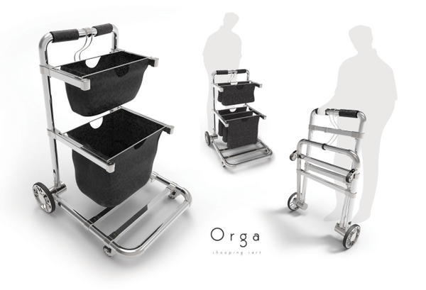 Orga Shopping Cart by Milutin Rajic
