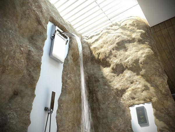 Bougie fy your bathroom yanko design - Altezza soffione doccia ...