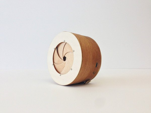 SoundBarrel Speaker by SaeJoung Kou