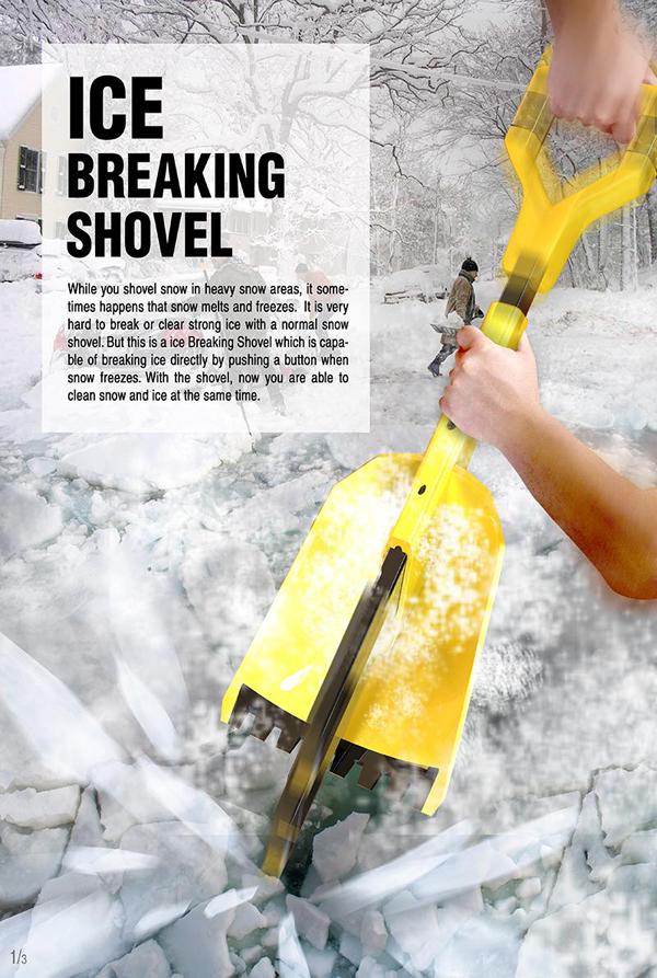 Ice Breaking Shovel by Ho-Jin Choi