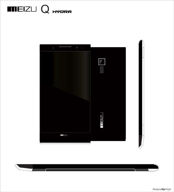Meizu Q Hydra - Smartphone Concept by Hege