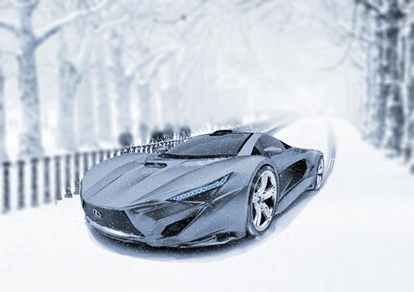 Lexus F10 Concept by Faisal Semari
