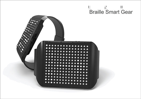 Braille Smart Gear by Jihoon Kim