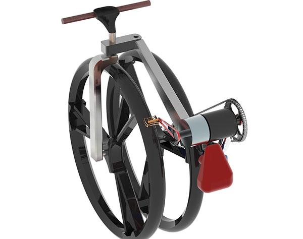 A Twist on the Folding Bike