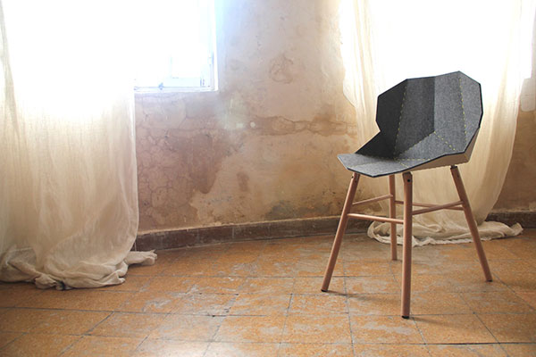 Stitch Chair by Amir Elias