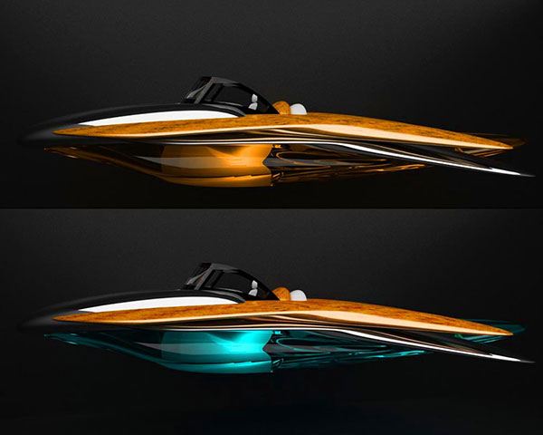 The sophisticated speed yacht of tomorrow yanko design - Interieur bateau de luxe ...