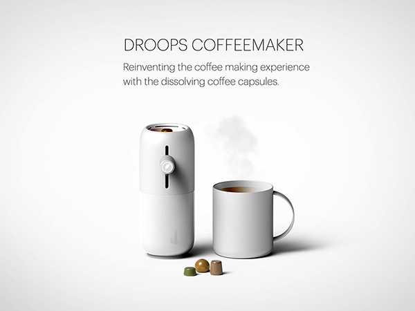 Droops Coffee Maker by Eason Chow Wai Tung
