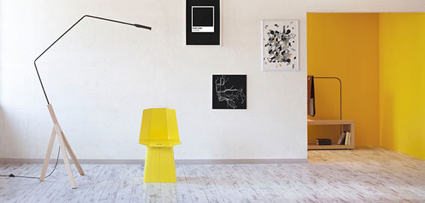 Noneli - Floor Lamp by Auriga Studio for Formabilio