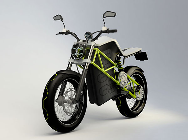 Concept#3 - Electric Motorcycle by Stefan Toth