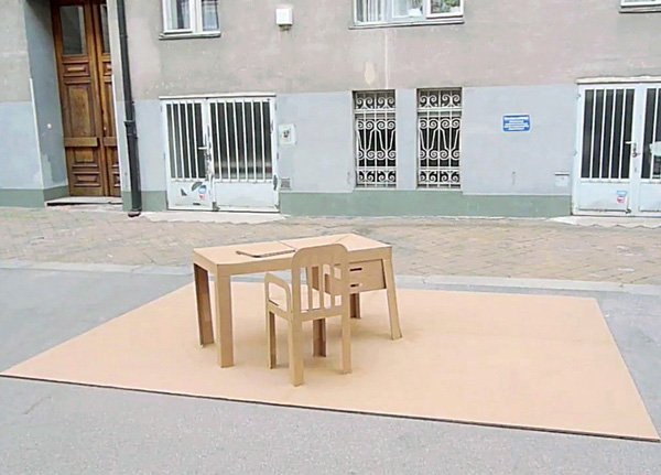Pop Up Furniture by Liddy Scheffknecht