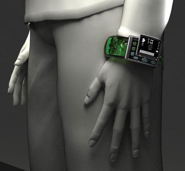 Wrist-worn Medication Reminder - image alz_01 on http://bestdesignews.com