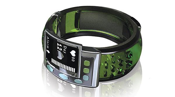 Wrist-worn Medication Reminder - image alz_04 on http://bestdesignews.com