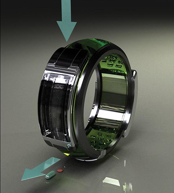 Wrist-worn Medication Reminder - image alz_06 on http://bestdesignews.com