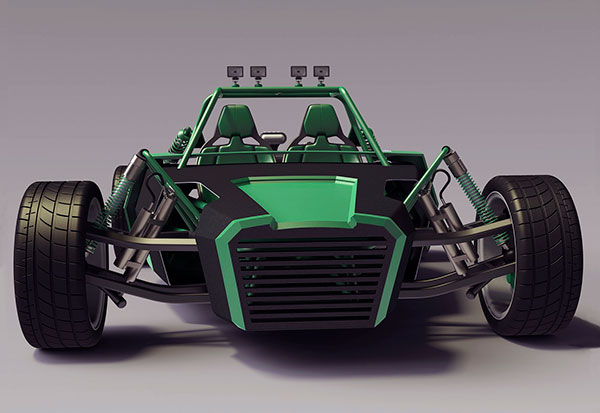 Mean Green Dune Machine