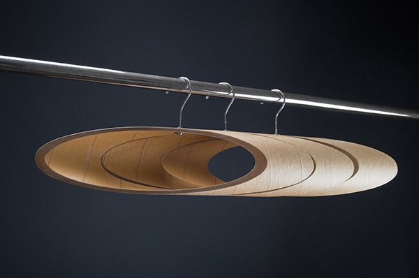 An Artistic Eco-Twist on the Hanger