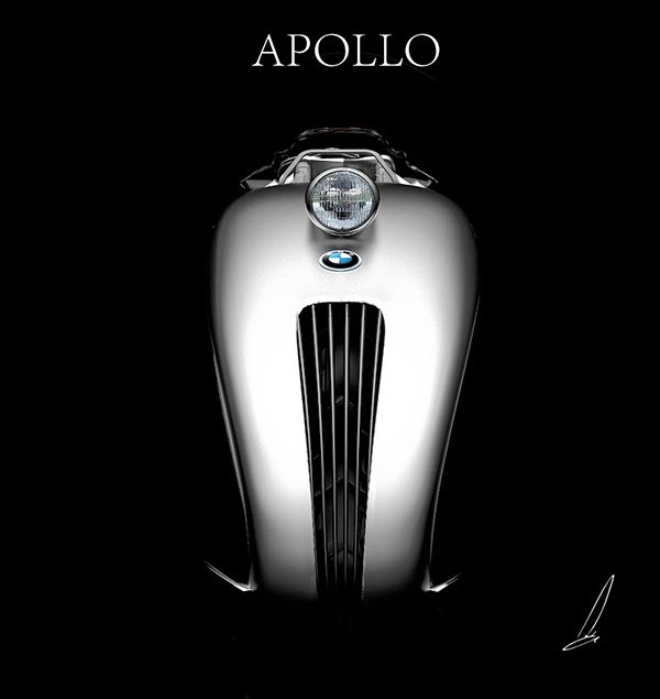 BMW Apollo Streamliner by Mehmet Doruk Erdem