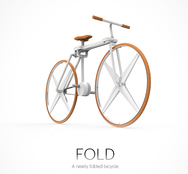 Fold Bicycle by Tim Gerlach & Eason Chow Wai Tung